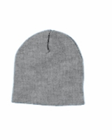 Classic Embroidered Logo Yupoong Knit Cap