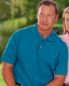Company Logo Golf Shirt by Blue Generation Men's Classic Polo Piques