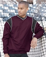 Rawlings Micro Poly - V-Neck Wind Shirt
