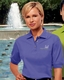Ladies Company Logo Golf Pique Knit Polo Shirt by Blue Generation