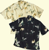 MAUI Floral Print Silk Camp (Men's and Women's)