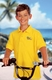 Children's Personalized Logo Polo Pique Shirt by Blue Generation