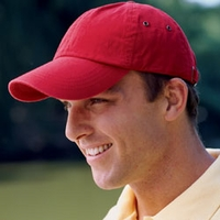 Logo Baseball Cap Anvil Low-Profile for Company Logo or Personalization