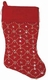 Personalized Christmas Stockings with Sequin Pattern