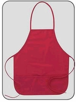 Embroidered Apron Wedding Gift