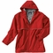 Rain Jacket Foul Weather Jacket with Boat Name & Graphic in Red