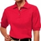 Ladies Company Logo Golf Shirt in Red