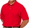 Company Logo Golf Shirt in Red