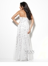 White Sean Collection Prom Dress 50491