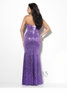 Elegant Purple Sean Collection Gown 50506