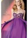 Alyce Purple Prom Gown 35522