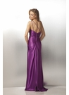 One Shoulder Charmeuse Prom Dress 17148