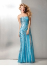 Tiffany Blue Silver 2012 Formal Dress 17164