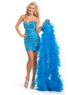 Party Time Formals High Low Party Dress 6045