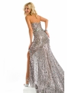 Party Time Formals Sequin Prom Gown 6051
