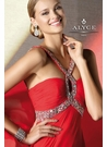Alyce Prom Dress with a Key Hole 35515