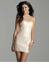 Short Clarisse Homecoming Gown 2040