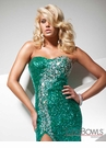 Beaded 2013 Prom Gown 113705