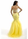 Mermaid Prom Gown 6089 By Party Time Formals - More Colors Available!