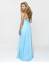 One Shoulder Chiffon Prom Gown 2158