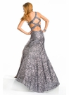 Long Sequin Party Time Prom Gown 6144