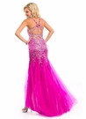 2013 Party Time Formals Magenta Dress 6027