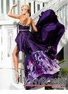 Tony Bowls High Low Prom Dress 11221