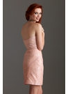Blush Pink Sequin Cocktail Dress 2206