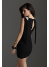 Little Black Dress with Fringe 2255
