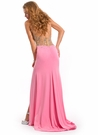Party Time Formals Halter Prom Gown 6078