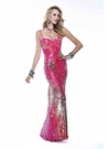 Pink Sequin Scala Prom Dress 4119