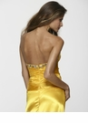 Radiant Fuchsia or Yellow Charmeuse Prom Dress 2112