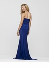 Slinky Strapless Formal Dress 2137