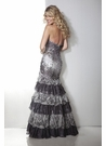 Sexy Silver Gray Prom Dress 17207