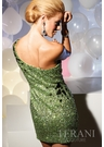 Terani Couture Green Party Dress 751