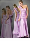 Mac Duggal Pleated Lilac Prom Dress 80068