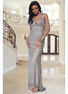 Embellished Scala Prom Dress 1023