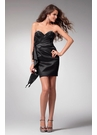 Short Strapless Cocktail Dress 1529