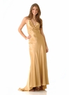 Silk Charmeuse Evening Gown 9119