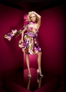Short Floral Party Dress 110584 by Tony Bowls