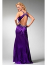 Purple Halter Prom Dress 1555