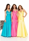 Yellow Halter Mermaid Prom Dress 8411 by Mori Lee