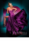 Purple Tony Bowls Prom Dress 111713
