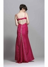 Raspberry Taffeta Prom Dress 3228