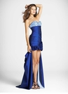Blue High Low Party Dress 9260 by Blush