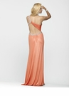 Unique One Shoulder Prom Gown 2128