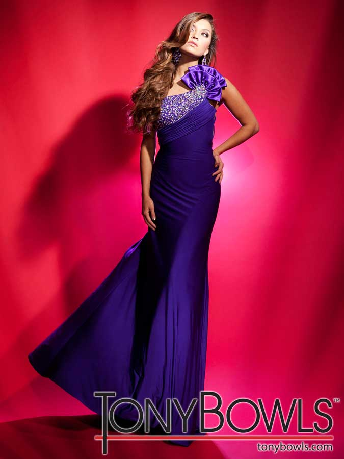 White and Gold Prom Dresses 2012