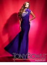 Tony Bowls One-shoulder Gown 112707