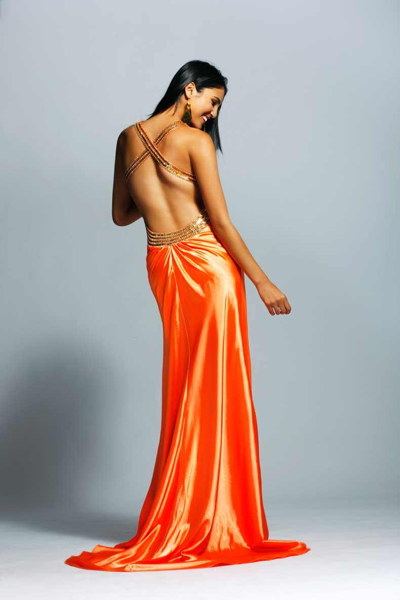Prom dress 909 - Clarisse 2009 collection