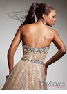 Tony Bowls 2013 Strapless Gown 113513
